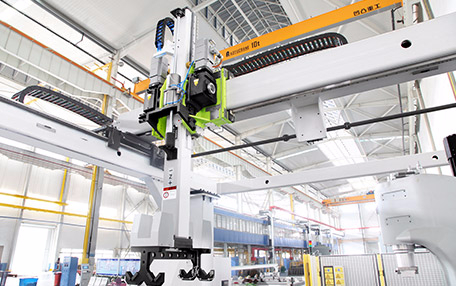 Long axis automation line